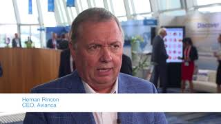 Interview with airline CEOs on Human Trafficking at IATA AGM 2018