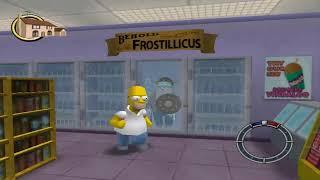 OfficialBlueBen Plays - The Simpsons Hit & Run!