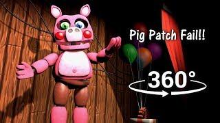 360°  Pig Patch Fail!! - FNAF6/FFPS [SFM] (VR Compatible)
