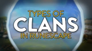 Types of clans in Runescape