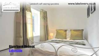 Riverbank Retreat, Lakeside, self catering holiday cottage