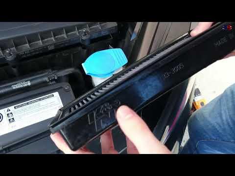 Golf VII GTI Luftfilter wechseln