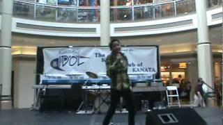 Kiwanis Idol 2010 1st tunner-up Jordan McIntosh