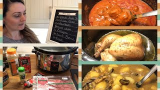Week Of Slowcooker Family Meals