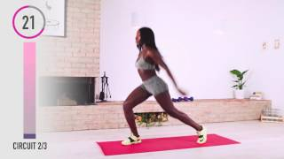 10-Minute Full Body Workout to Burn Calories - No-Equipment at Home Workout with Brittne Babe