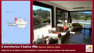 preview picture of video '5 dormitorios 3 baños Villa se Vende en Esporles, Mallorca, Spain'
