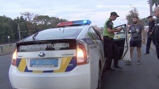 Полиция готова пристрелить за нарушение которого не было. Начало.
