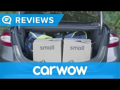 Ford Mondeo Vignale 2017 practicality review   Mat Watson Reviews