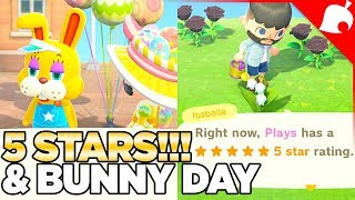 I Got 5 STARS Island Evaluation! And Bunny Day In Animal Crossing New Horizons