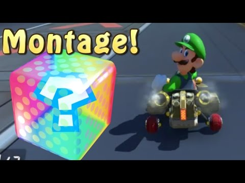 Mario Kart 8 Deluxe Online Funny Moments Montage 2