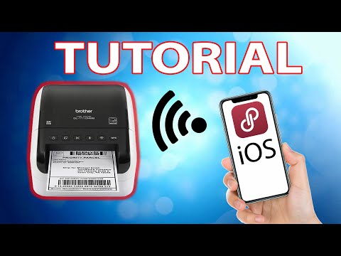 The Best Thermal Printer For Poshmark WIRELESS iOS Step by Step Brother QL1110NWB Setup for Mobile