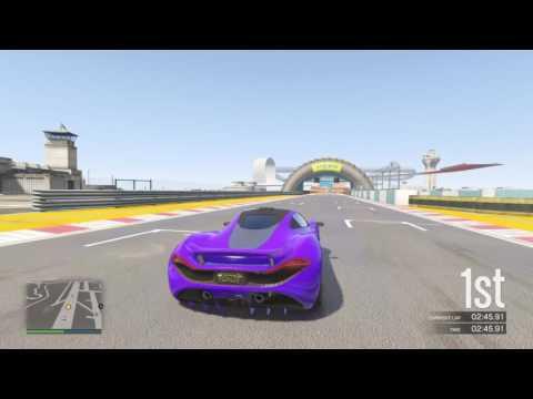 GTA V Stunt Race 1st Place (GTA V Gameplay) No Commentary