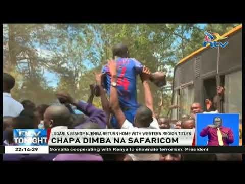 Chapa Dimba Na Safaricom: Lugari and Bishop Njenga return home with western region titles