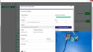 GPRS communication with PC client