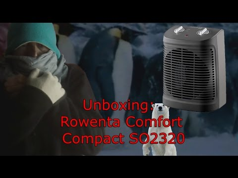 Unboxing: Rowenta Comfort Compact SO2320
