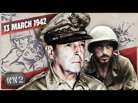 Hlavní města pod útokem, MacArthur na útěku