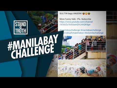 [GMA]  Stand for Truth: #ManilaBayChallenge: Dolomite sand sa Manila Bay, dinumog ng publiko!