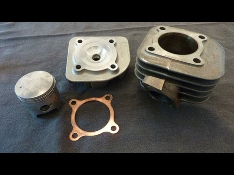 Project 49 – 68cc Big Bore Kit – Chinese Two-Stroke Scooter Performance 50cc 70cc