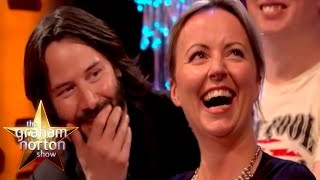 Keanu Reeves Gets Hit On By An Audience Member   The Graham Norton Show