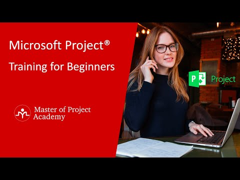 Microsoft Project Training Tutorial for Beginners - YouTube