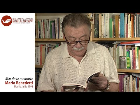 'Mar de la memoria', Mario Benedetti