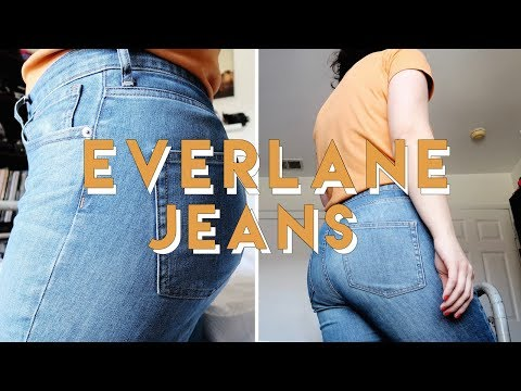 Everlane Jeans Review | The High-Rise Skinny Jean