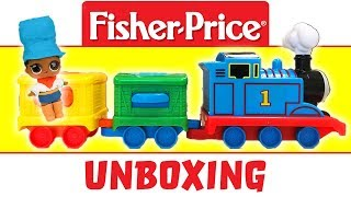 LOL Doll Foxy the Train Conductor Unboxes New Thomas Activity Train Set, and Stacking Steamies!
