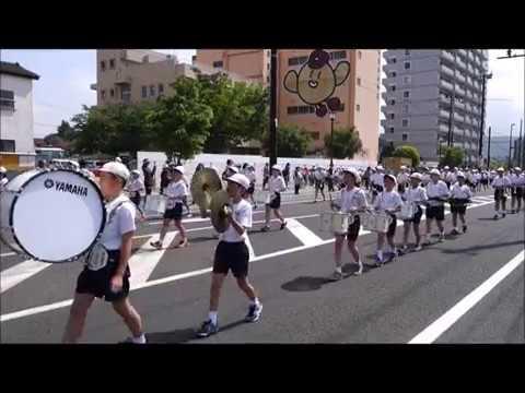 第42回福島市小学校鼓笛パレード 笹谷小学校