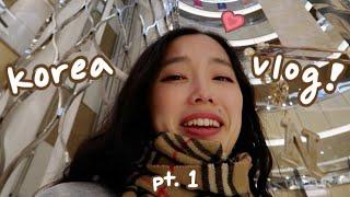 korea vlog pt.1 : SEOUL   shopping, food, cafes, BTS concert(?)