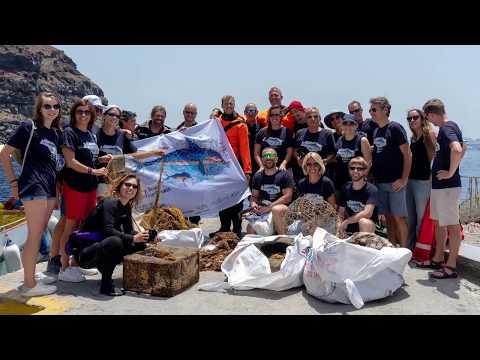 Santorini Ghost Net Removal Dive