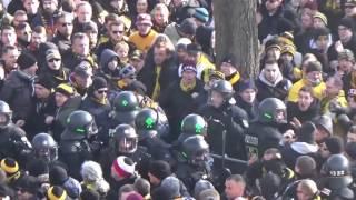 Dynamo Dresden Invasion in Nürnberg