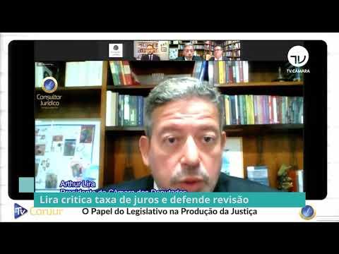Lira critica taxa de juros e defende revisão - 18/03/21