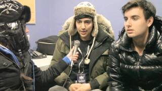 DZEKO & TORRES INTERVIEW - BRRRRR TORONTO Winter Wonderland festival