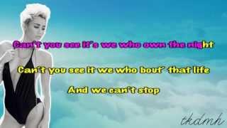 Miley Cyrus - We Can't Stop Karaoke/Instrumental