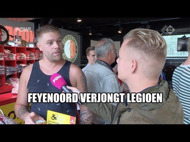 Feyenoord verjongt legioen