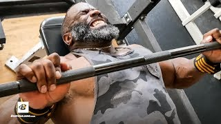 Real & RAW Chest Training | IFBB Pro Johnnie O. Jackson by Bodybuilding.com