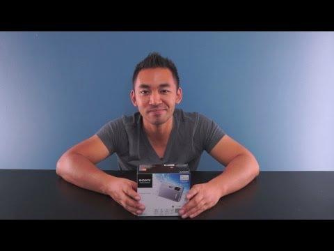 Unboxing the Sony DSC-TX30