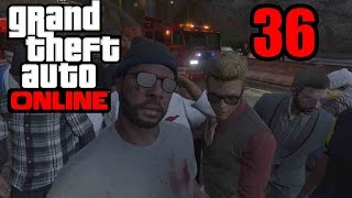 GTA 5 Online PS4 - THE IMPOSSIBLE RACE!   Twitch Subscriber Lobby Part 36