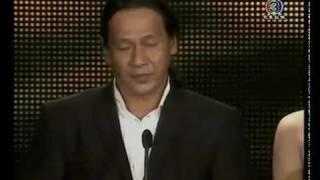 ดูทีวี คลิปวีดิโอ อ๊อฟ พงษ์พัฒน์ ในงานประกาศรางวัลนาฏราช2