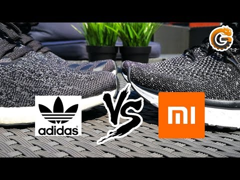 Xiaomi Schuhe vs. Adidas Sneaker - Muss es immer teuer sein? - Billig vs. Teuer | China-Gadgets