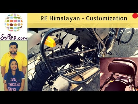 Royal Enfield Himalayan Modifications and Accessories | Feat