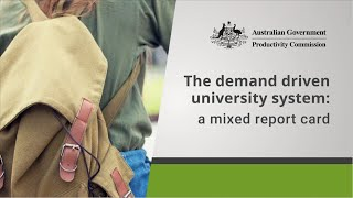 The Demand Driven University System: A mixed report card