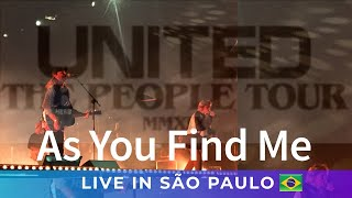 As You Find Me - HILLSONG UNITED em SÃO PAULO (The People Tour)