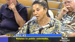 preview picture of video '6/26/14 Honolulu City Council Planning & Zoning Committee Mtg'