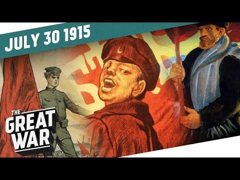 Němci pomáhají Bolševikům