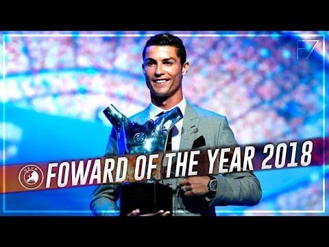 Cristiano Ronaldo • UEFA Forward of the Year 2018 • Best Goals & Skills