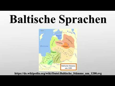 Baltische Sprachen