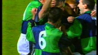 preview picture of video 'Germany 1 - 1 Northern Ireland - Gerry Taggart's Goal'