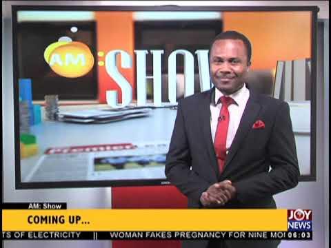 AM Show Intro on JoyNews (3-10-18)