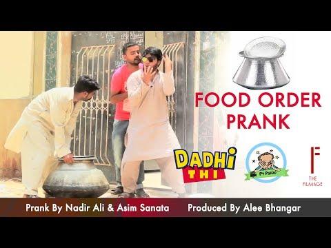 Food Order Prank